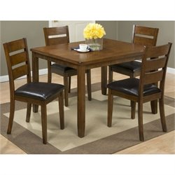 Bowery Hill 5 Piece Dining Set in Mango