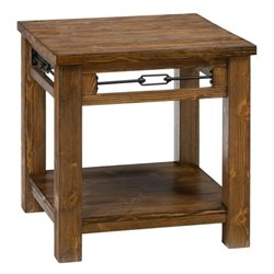 MER-1374 Bowery Hill Wood End Table in Pine 5268