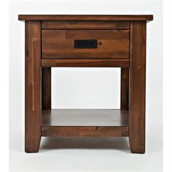 MER-1374 Bowery Hill End Table in Light Brown