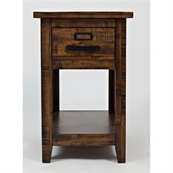 MER-1374 Bowery Hill End Table in Brown A