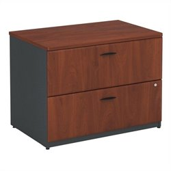 Pemberly Row 36W 2Dwr Lateral File in Hansen Cherry