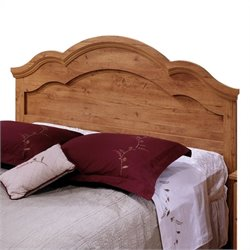 Pemberly Row Full Queen Panel Headboard in Pine