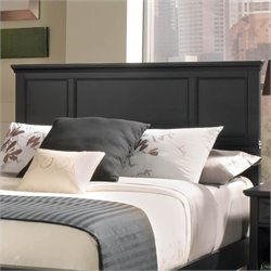 Pemberly Row Full Queen Panel Headboard in Ebony