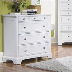 Pemberly Row 4 Drawer Chest in Off White