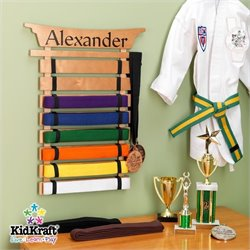 Pemberly Row Martial Arts Belt Holder