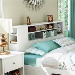 Pemberly Row Full Queen Bookcase Headboard V