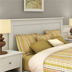 Pemberly Row Full Queen Panel Headboard in White