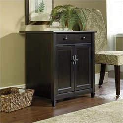 Pemberly Row Utility Stand in Estate Black