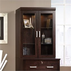Pemberly Row Hutch in Dark Alder