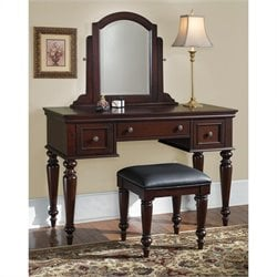 Pemberly Row Vanity and Bench