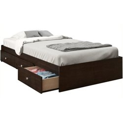 Pemberly Row Storage Bed in Espresso