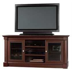 Pemberly Row Full Size TV Stand in Cherry Finish