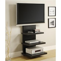 Pemberly Row AltraMount TV Stand in Black