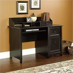 Pemberly Row Computer Desk in Estate Black