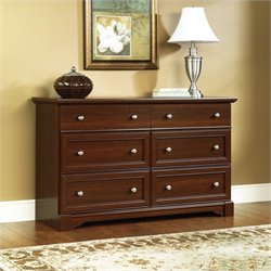 Pemberly Row Six Drawer Dresser in Select Cherry Finish