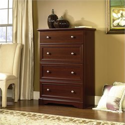 Pemberly Row 4 Drawer Chest in Select Cherry Finish