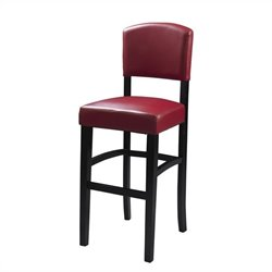 MER-991 Monaco Red Stool Height