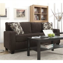 Pemberly Row Sofa in Riverfront Brown