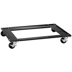 Pemberly Row Commercial Cabinet Dolly in Black