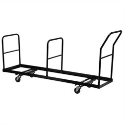 Pemberly Row Vertical Storage Folding Chair Dolly