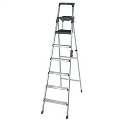 Pemberly Row Signature Series 8' Premium Aluminum Step Ladder