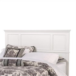 Pemberly Row Panel Headboard in White II