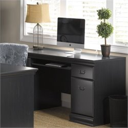 Pemberly Row Credenza in Antique Black