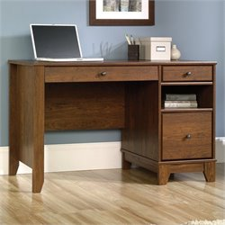 Pemberly Row Computer Desk in Milled Cherry