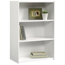 Pemberly Row Bookcase in Soft White