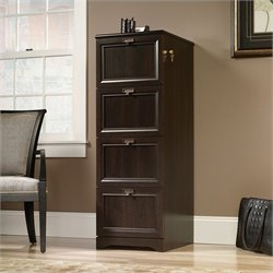 Pemberly Row File Cabinet in Cinnamon Cherry