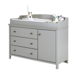 Pemberly Row Gray Changing Table
