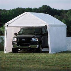 Pemberly Row 10'x20' 2-in-1 Canopy Pack in White