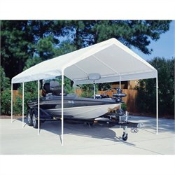 Pemberly Row 12' x 20' Universal Canopy in White