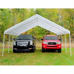 Pemberly Row 18' x 27' Canopy in White