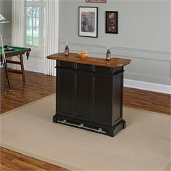 Pemberly Row Home Bar in Black Oak