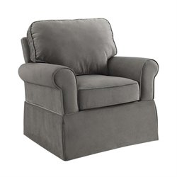 Pemberly Row Eva Rocker in Graphite Gray