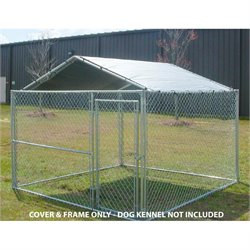 Pemberly Row 10' X 10' Kennel Cover in Silver