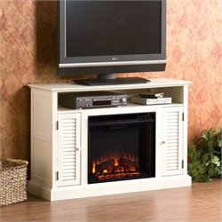 Pemberly Row Media Electric Fireplace in