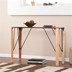 Pemberly Row Antock Console Table in Natural