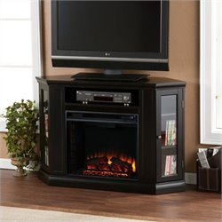 Pemberly Row Convertible Media Electric Fireplace