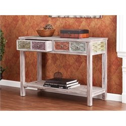 Pemberly Row Console Table in Multi