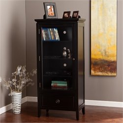 Pemberly Row Storage and Display Tower in Black