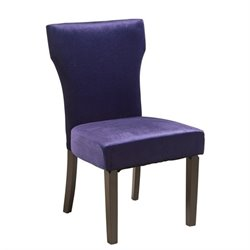 Pemberly Row Accent Chair in Purple