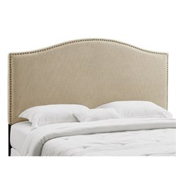 Panel Headboard in Tan