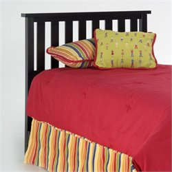 Pemberly Row Wood Headboard in Black