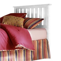 Pemberly Row Slat Headboard in White