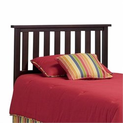 Pemberly Row Twin Slat Headboard in Merlot