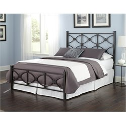 Pemberly Row Bed in Black