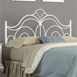 Pemberly Row Headboard in Glossy White