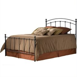 Pemberly Row Metal Poster Bed with Frame